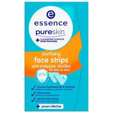 ESSENCE pure skin purifying face-strips (3x1 Stück) NEU&OVP