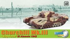 Churchill Mk.iii King Force Alamein 1942 Dragon 1 72 D60592 Miniature