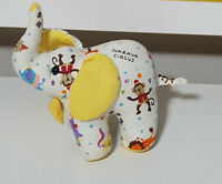 CUTE COTTON NARAYA CIRCUS ELEPHANT PLUSH TOY! SOFT TOY ABOUT 14CM TALL KIDS TOY!