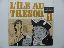 Livre disque L ile au tresor N°1 Le plan mysterieuX  JEAN ARBULEAU