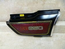Honda 650 CB STANDARD CB650 Used Original Right Side Cover 1979 #HB65 Vintage