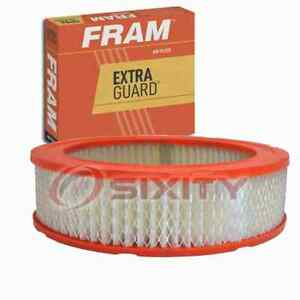 FRAM Extra Guard Air Filter for 1965-1967 Plymouth Belvedere II Intake Inlet ts