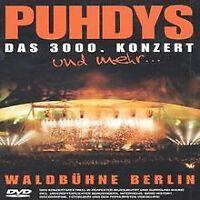 Puhdys - Live - Das 3000. Konzert   DVD   Zustand gut