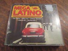 coffret 4 cd mega latino