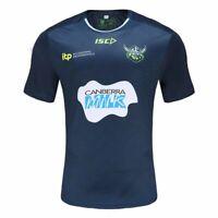 Canberra Raiders 2021 Training Tee Shirt Sizes S - 5XL & Kids Navy/Envy NRL ISC