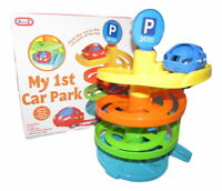 Baby Toddler My 1st Car Park Garage Plastic Activity Play Toy Set With Toy Car