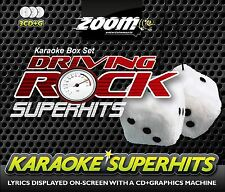 Zoom Karaoke CD+G - Driving Rock Superhits Triple 3 CDG Box Set Brand New