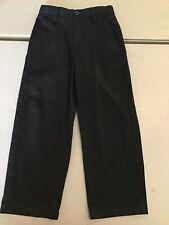 George Black Pants, Size 5. Boys. Adjustable Waist. Cotton, Polyester