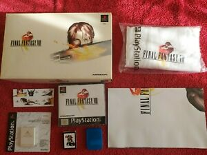 FINAL FANTASY VIII (8) LIMITED EDITION SONY PLAYSTATION PSONE PS1 PS2 PAL