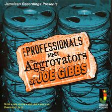 PROFESSIONALS Meet THE AGGROVATORS At JOE GIBBS NEW CD £9.99