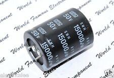 1pcs - NIPPON SMH 15000uF (15000µF) 50V Snap-In Capacitor ESMH500VSN153MA45S+000