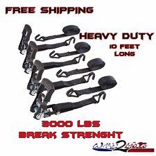 Tie Down Ratchet Strap Set Quick Release Polaris Sportsman 400 500 450 570 600