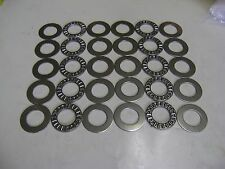10 AXK2035 Thrust Needle Roller Bearings 20x35x2 mm With Washers A50