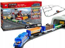 Elektrische Zug Eisenbahnzug Eisenbahn Lok + 4 Waggons Grube tunnel 1067 cm