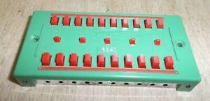 Fleischmann 6940 (508) Distributor Plate Red