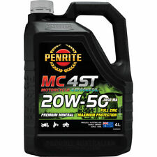 Penrite MC-4ST Mineral Motorcycle Oil 20W-50 4 Litre
