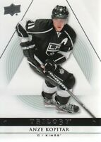 2013-14 Upper Deck Trilogy Hockey #46 Anze Kopitar Los Angeles Kings