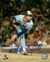 Brewers MIKE CALDWELL Signed 8x10 Photo #6 AUTO -  1982 World Series Brewers