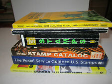LOT OF (6) U.S. STAMP PRICE GUIDE BOOKS - SEE PICS - BOX  GS