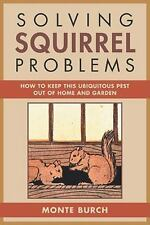 Solving Squirrel Problems: How to Keep This Ubiquitous Pest Out of Home and Gard