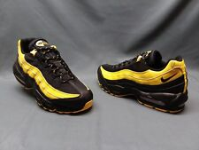Nike Men's Air Max 95 Frequency Pack Sneakers Black Yellow Size 8.5 NWOB!