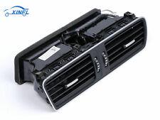 OEM Black Chrome Front Dash Central Air Vent 3AB 819 728A For VW PASSAT B6 B7 CC