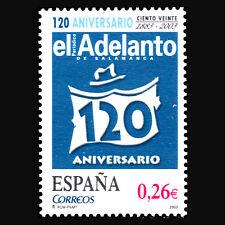 "Spain 2003 - Newspapers ""120th Anniv of El Adelanto de Salamanca"" - Sc 3232 MNH"