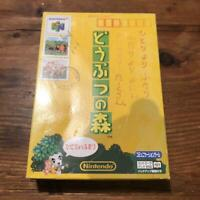 Nintendo 64 Animal Forest Game Software