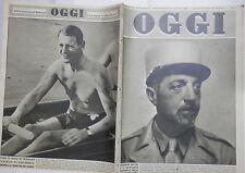 OGGI 25 Gennaio 1948 Bottai Legione Straniera Somalia Paone Tauber Mafalda di e