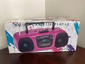 Rare Vintage GPX Purple AM/FM Cassette Player Model C461CTM New
