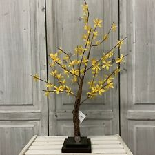 Yellow Forsythia Flower Easter Tree Gisela Graham Decoration Branch Twig Faux