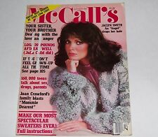 VINTAGE McCALLS MAGAZINE OCTOBER 1981 JACLYN SMITH ANGEL DROPS HER HALO COVER