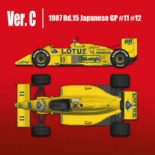 Model Factory Hiro MFH 1/12 LOTUS TYPE 99T 1987 Rd.15 Japanese GP K636 Ver.C