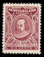 #92 Newfoundland Canada mint well centered cv $140