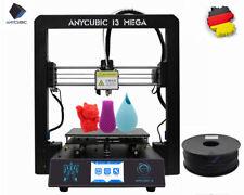 Anycubic I3 Mega Ganzmetall 3D Drucker größerer Druckgröße 3,5 Zoll TFT DE Ships