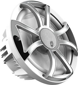 """Wet Sounds REVO 10 XS-W-SS 10"""" Open Grille, White/Stainless"""