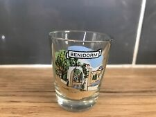 Benidorm Shot Glass Souvenier