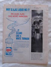 1969 Magazine Advertisement Page Featuring Ajax All Purpose Liquid Cleaner Ad