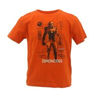 NFL Denver Broncos Youth Kids Size Team Apparel Official T-Shirt New With Tags