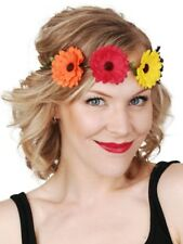 Flower Gerbera headband 1960s 60s hippie hippy costume retro