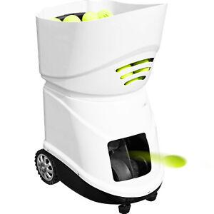 VEVOR Tennisballmaschine Ballwurfmaschine 150 Tennisbälle Training Tragbar ABS