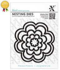 Xcut Metal Nesting Dies *BLOOM* 5 Piece by DoCrafts Die Cutting Flowers Blossoms