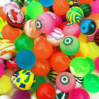 10pcs Coloful BOUNCY JET BALLS BIRTHDAY PARTY LOOT BAG FILLERS Cute . G1R6 O6F7