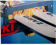 Automaxi Lock-Ski-seguro Baca coche portadora de Esquí Doble (2 par)