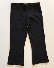 Lululemon Women's Black Boogie Crop Capri Pant Sz 4