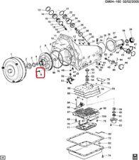 Auto Trans Oil Pump Bolt Seal ACDelco GM Original Equipment 24208664
