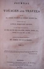 Journal of Voyages and Travels 1831 Vol 1 Illustrated All plates intact