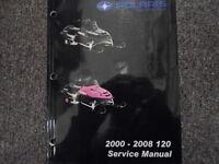 2000 2001 2002 2003 2004 2005 06 07 2008 Polaris 120 Shop Repair Service Manual