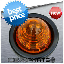 "2"" NEW LED ROUND BEEHIVE TURN SIGNAL MINI MARKER TRUCK TRAILER LIGHT GOLF CART"