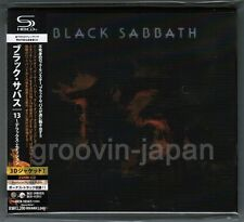Sealed! BLACK SABBATH 13 JAPAN-ONLY 2SHM-CD Deluxe w/Bonus+Obi UICN-1034/5